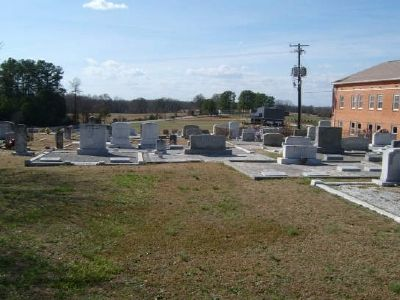 Whitefield Baptist Church Cemetery image. Click for full size.