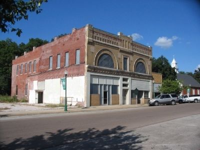 Bank of Osceola Building and Marker image. Click for full size.