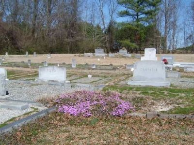 Dorchester Baptist Church Cemetery image. Click for full size.