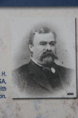 Brig. Gen. William H. (Red) Jackson, CSA image. Click for full size.