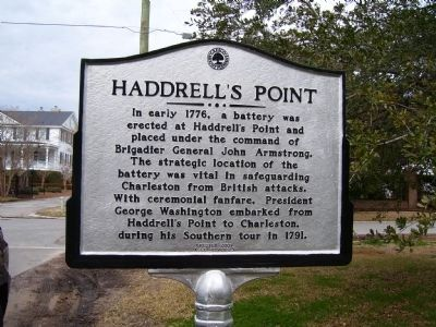Haddrell's Point Marker image. Click for full size.