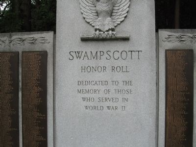 Swampscott Honor Roll image. Click for full size.