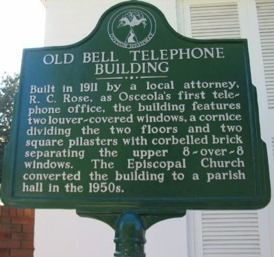 Old Bell Telephone Building Marker image. Click for full size.
