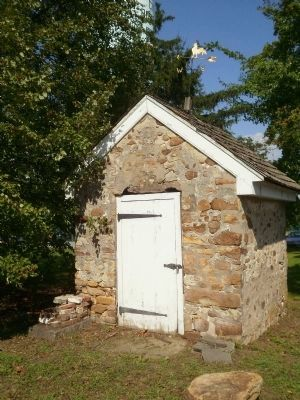 Smokehouse Located Behind the Richard Watson Gilder House image. Click for full size.