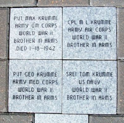 Krumme Family Pavers image. Click for full size.