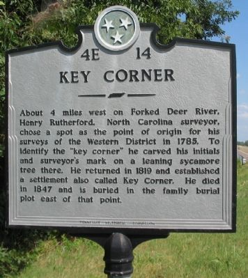 Key Corner Marker image. Click for full size.