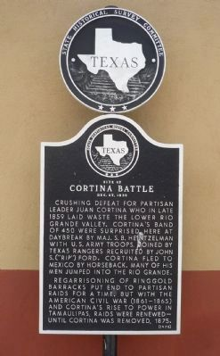 Cortina Battle Marker image. Click for full size.