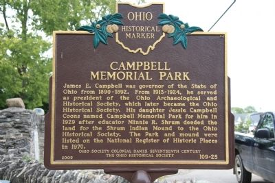 Campbell Memorial Park Marker image. Click for full size.