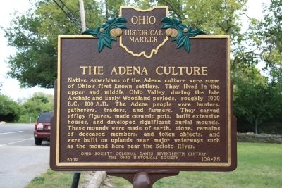 The Adena Culture Marker image. Click for full size.