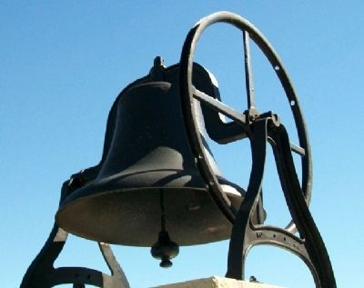 Franklin School Bell image. Click for full size.