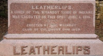 Leatherlips Marker image. Click for full size.