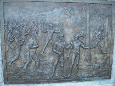 Bas Relief Plaque image. Click for full size.