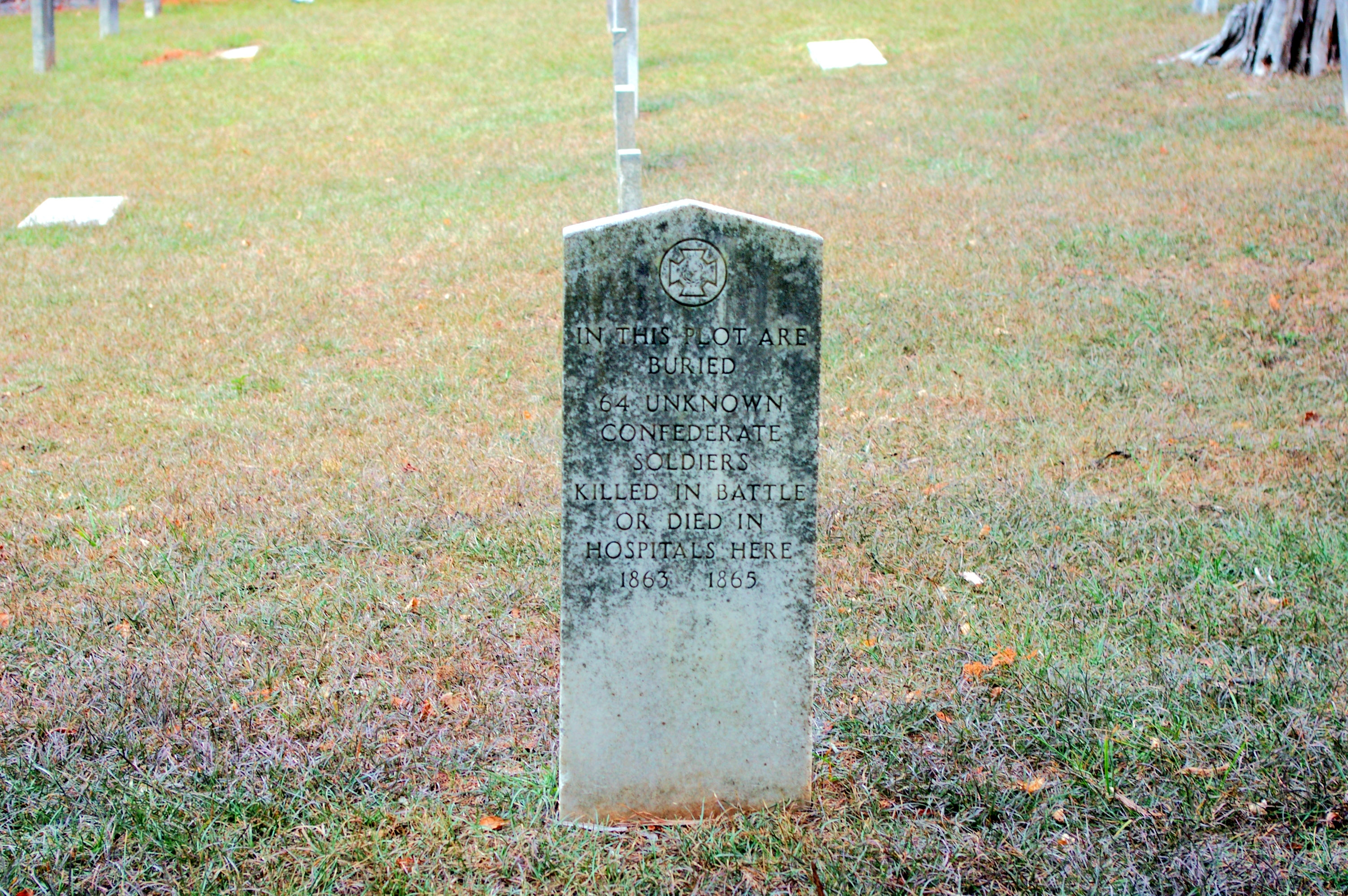 Fort Tyler Confederate Cemetery
