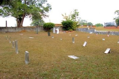 Fort Tyler Confederate Cemetery image. Click for full size.