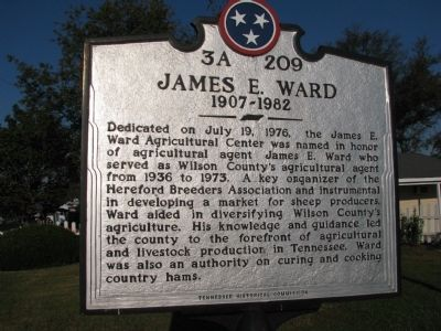 James E. Ward Marker image. Click for full size.