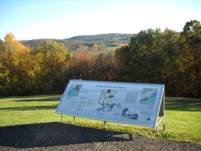 Marker on the Bennington Battlefield image. Click for full size.