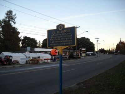 Marker in Mechanicville image. Click for full size.