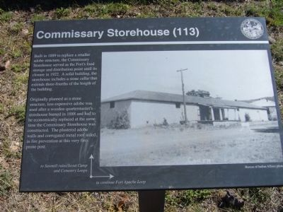 Commissary Storehouse Marker image. Click for full size.
