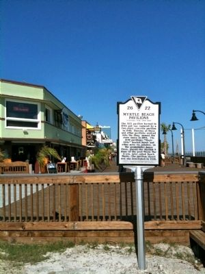 Boardwalk Behind Marker image. Click for full size.