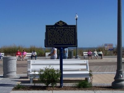 City of Rehoboth Beach Marker image. Click for full size.