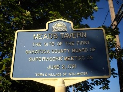 Mead's Tavern Marker image. Click for full size.