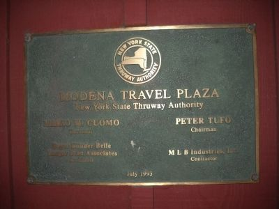 Modena Travel Plaza image. Click for full size.