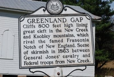 Greenland Gap Marker image. Click for full size.