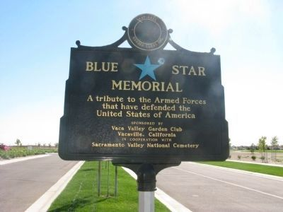 Blue Star Memorial image. Click for full size.