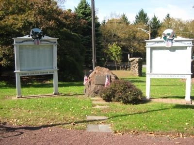 Bernards Township Veterans Monument image. Click for full size.