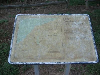 Outer Breastworks Marker image. Click for full size.