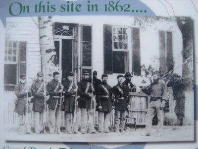 On this site in 1862... Marker image. Click for full size.