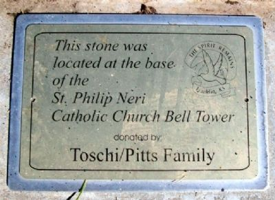 Neri Church Bell Tower Marker image. Click for full size.