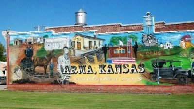 Arma Centennial Mural 2009 image. Click for full size.