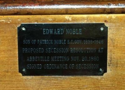 Trinity Episcopal Church Member Plaque -<br>Edward Noble image. Click for full size.