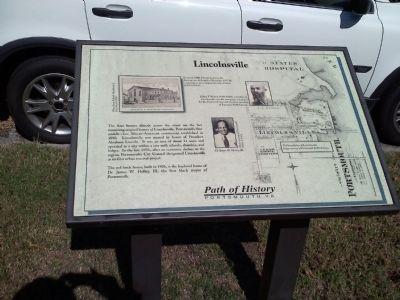 Lincolnsville Marker image. Click for full size.