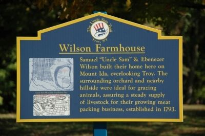 Wilson Farmhouse Marker image. Click for full size.