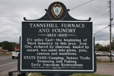 Tannehill Furnace And Foundry Marker image. Click for full size.