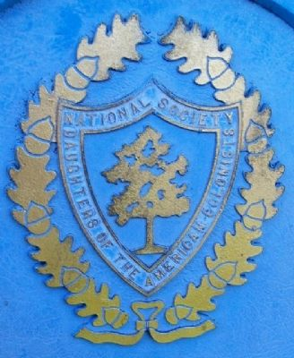 NSDAC Emblem on Marker image. Click for full size.