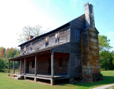 Obediah Shirley House -<br>Northeast Elevation image. Click for full size.