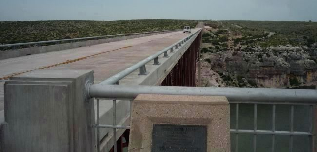 Pecos River High Bridge image. Click for full size.