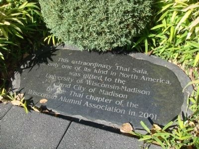 Related Marker at Thai Pavilion image. Click for full size.