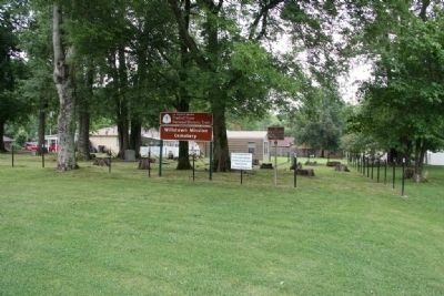 Site of the Willstown Mission and Cemetery image. Click for full size.