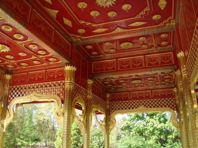Closeup of Thai Pavilion Ceiling image. Click for full size.