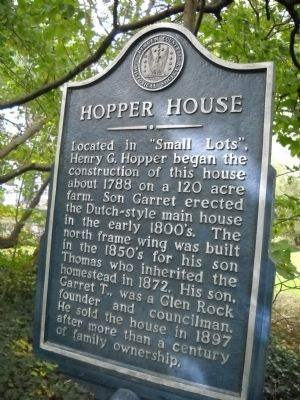 Hopper House Marker image. Click for full size.