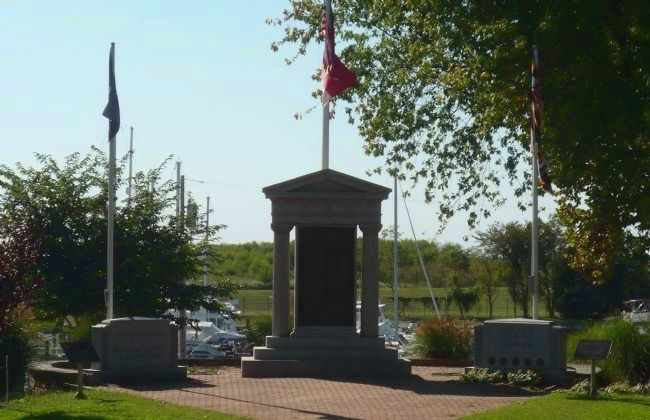 Havre de Grace War Memorial, viewed from the north image. Click for full size.