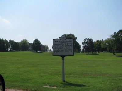 Maryville College Marker image. Click for full size.