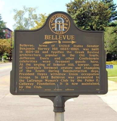Bellevue Marker image. Click for full size.