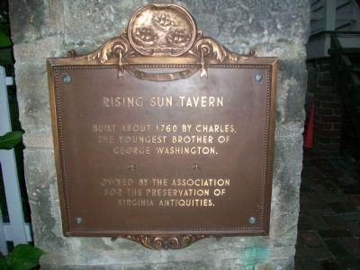 Rising Sun Tavern Marker image. Click for full size.