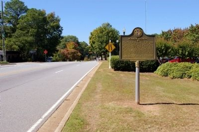 Morrow, Georgia Marker image. Click for full size.
