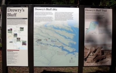 Drewry's Bluff Panels image. Click for full size.